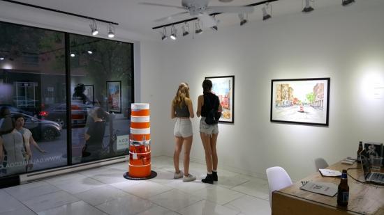 montreal orange cone