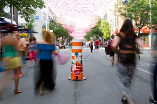 orange cone montreal