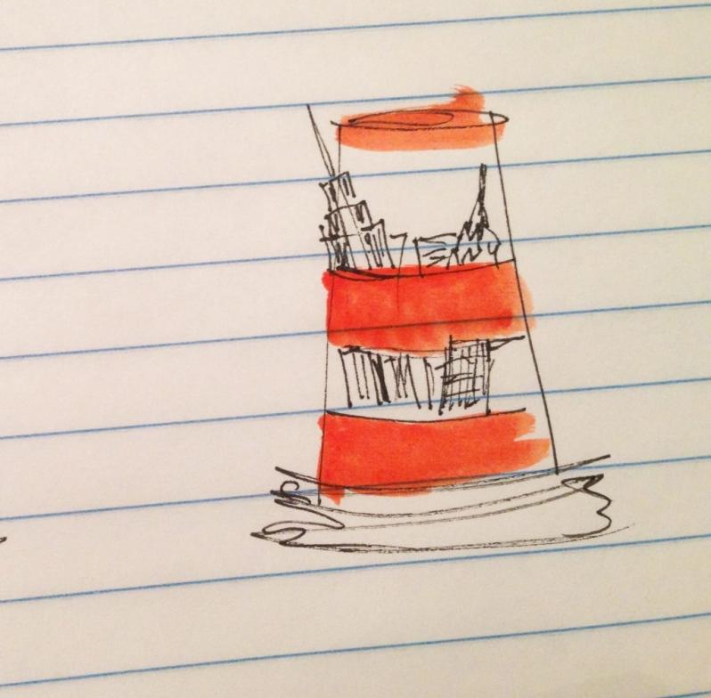 orange cone montreal sketch nyc