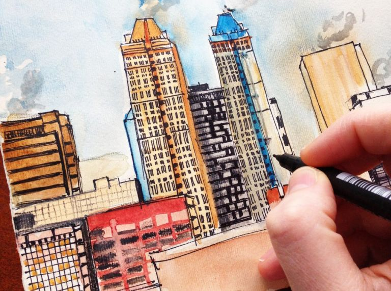 calgary_yyc_watercolours